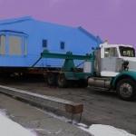 Ciel mauve maison bleue retouchee